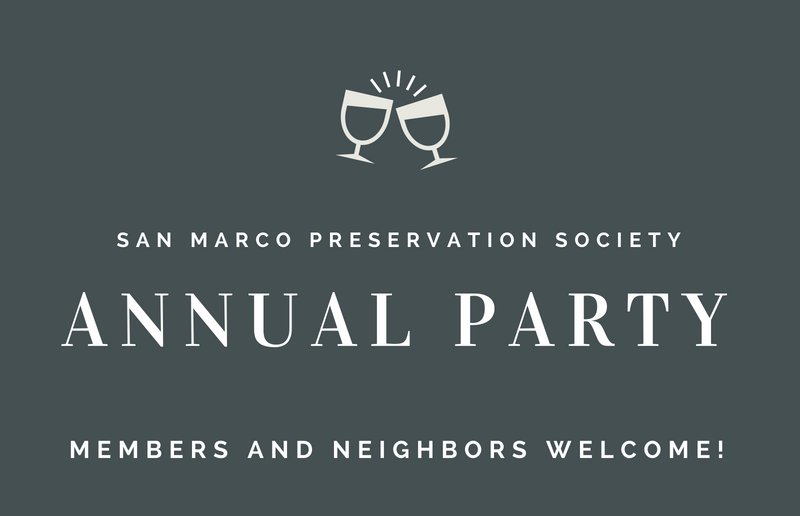 San Marco Preservation Society Annual Party