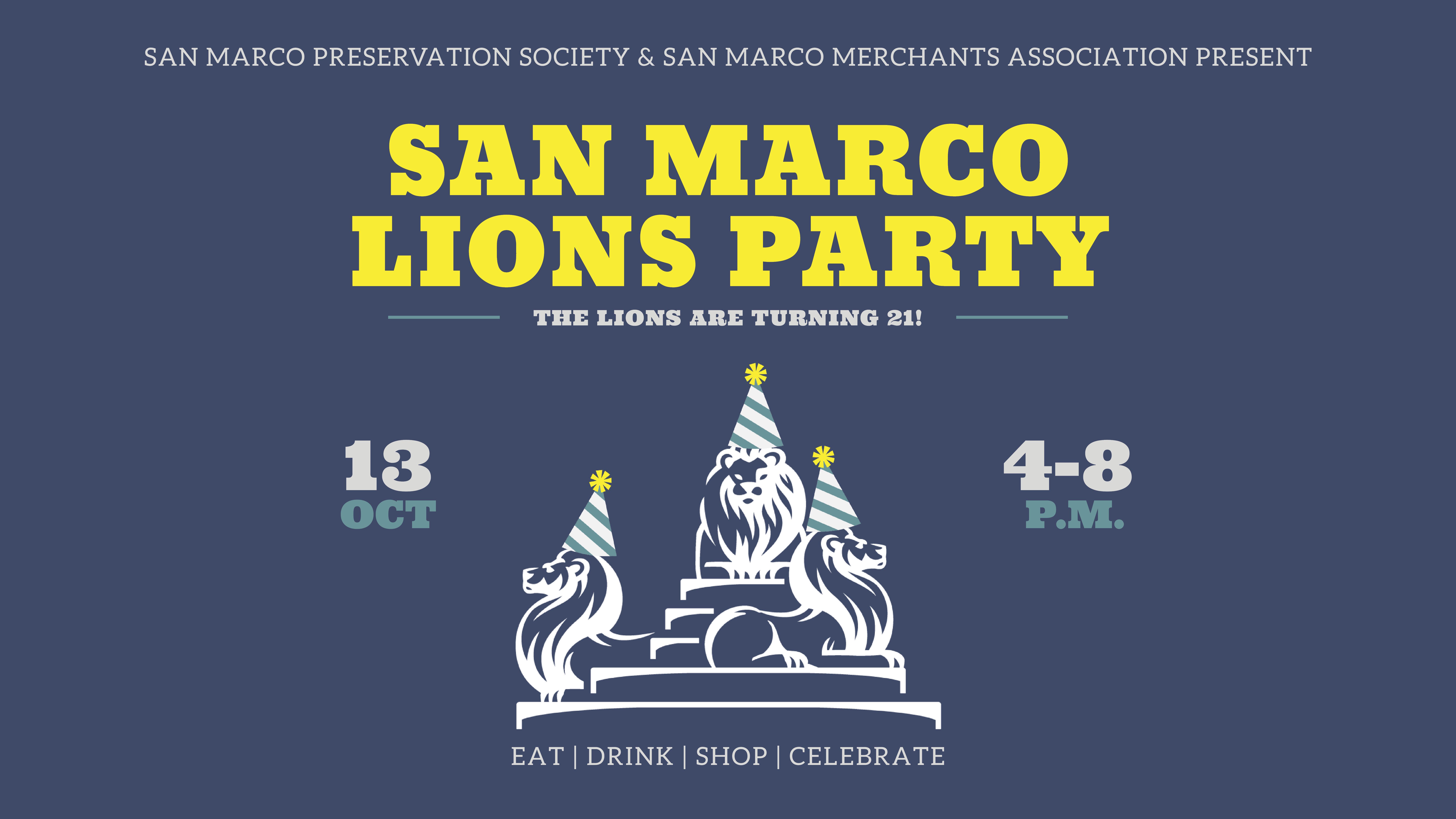 San Marco Lions Party